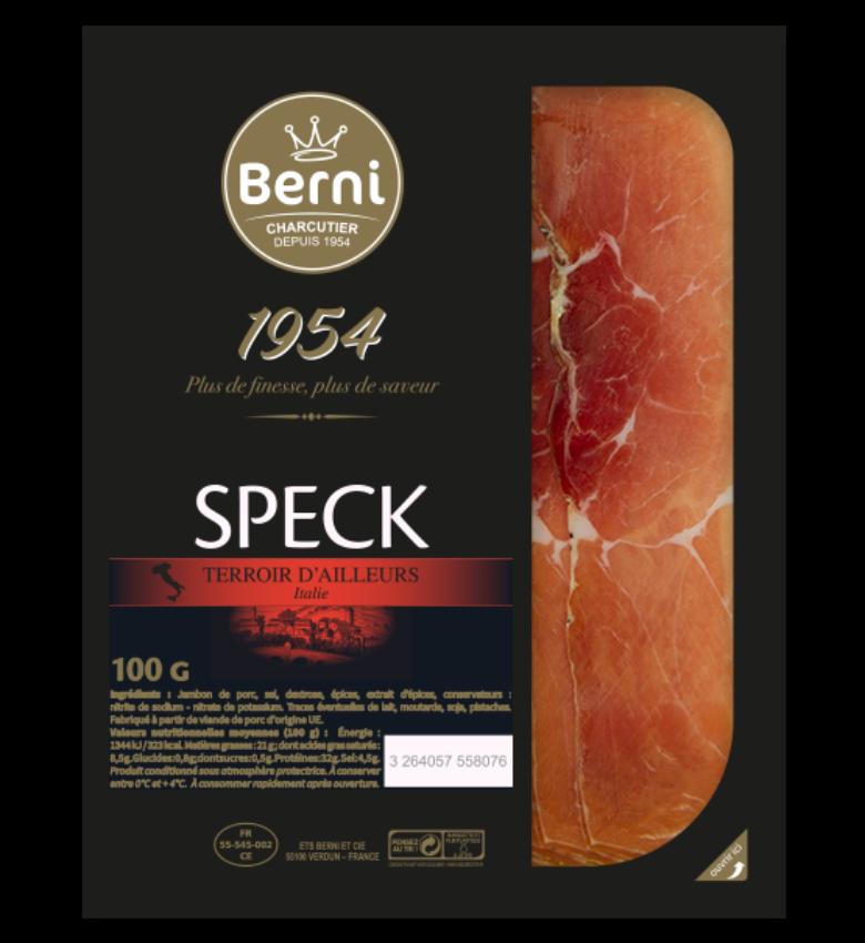 speck jambon italien