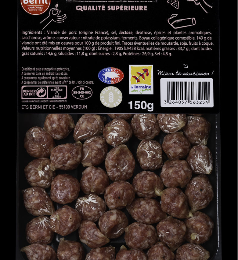MINI-SAUCISSON-SEC-NATURE-150g
